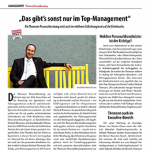 Artikel über die Thomann Personalberatung im Regio Manager 05/2018.